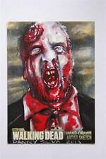 WALKING DEAD SEASON 3 PART Sketch Card by Danny Silva