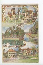 Velden am Wörther See RARE Antique Postkarte Austria Österreich HOTEL AK 1910s