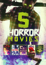 5 - Horror Movies Collection (Value Movie Coll New DVD Free Shipping