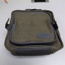 Genuine Landrover Discovery 1 centre console bag in brown. Rare and complete.