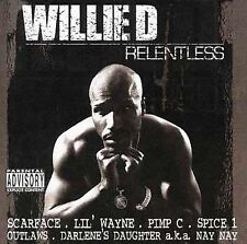Willie D: Relentless Explicit Lyrics Audio Cassette