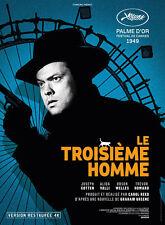 Affiche 40x60cm LE TROISIÈME HOMME /THE THIRD MAN 1949 Orson Welles R2015 TBE