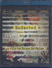 Blu-ray **REDACTED** di Brian De Palma nuovo sigillato 2007