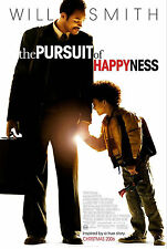 THE PURSUIT OF HAPPYNESS (2006) ORIGINAL MOVIE POSTER  -  ROLLED  - DOUBLE-SIDED