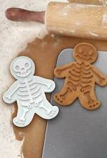 GINGERDEAD MEN Skeleton Cookie Cutters Halloween  Fred & Friends