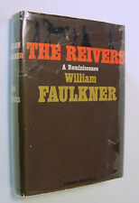 The Reivers a Reminiscence by William Faulkner - 1st Edition 1st Printing 1962