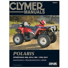 CLYMER MANUALS POLARIS SPORTSMAN 400, 450 & 500 1996- - ED SCOTT (PAPERBACK) NEW