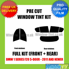 BMW 1 SERIES F20 5-DOOR 2011+ FULL PRE CUT WINDOW TINT KIT