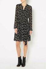 WITCHERY sz 12 womens print gathered dress - DEFECT