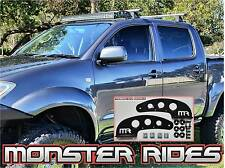 """42"""" 43"""" LED Curved Light Bar Mounts for 05+ Hilux fitted with Rhino Tracks"""