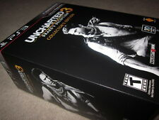 Uncharted 3 Drake's Deception Collector Edition (PS3) with Steelbook &figure NEW