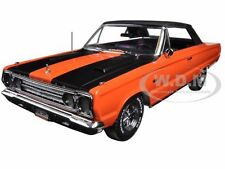 1967 PLYMOUTH BELVEDERE GTX CONVERTIBLE ORANGE JOE DIRT 1/18 BY GREENLIGHT 19006