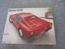 1980s Vintage Testors Ferrari 288 GTO 1:16 Scale Car Model Kit Sealed