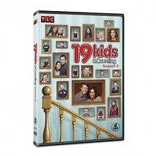 19 Kids and Counting: Season 5; over 12 hours! 31 episodes on 4 DVD's RARE! OOP!