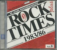 Audio Rock Times Plus Vol. 08 1983-1986 CD Various Audiophile