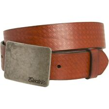 Electric Visual Yeager Leather Belt (36) Brown ED7411204