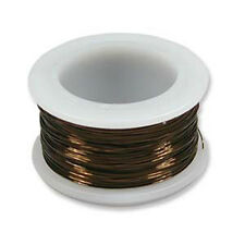 Vintage Bronze Color Wire Beadsmith 18 gauge 7yds Spool 41521 Round