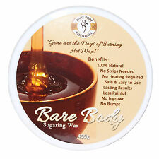 Bare Body Sugar Wax Regular (400g) - No Strips Needed | 100% Natural