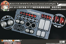 Voyager 1/35 Modern US M1070 Truck Tractor Lenses&Taillights for HobbyBoss 85502