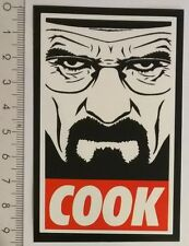 *** Breaking Bad Sticker - Walter White - Heisenberg  Aufkleber - Cook ***
