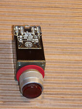 ALLEN BRADLEY 800MR-PA16S LIGHTED RED PUSH BUTTON SWITCH WITGH SET NO/NC  R167