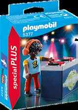 Playmobil 5377 DJ disck jockey turntable disco headphones NEW BOXED Worldwide