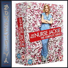 NURSE JACKIE -COMPLETE SERIES - SEASONS 1 2 3 4 5 6 & 7*BRAND NEW DVD BOXSET***