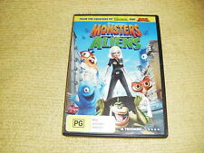 MONSTERS & ALIENS dreamworks 2009 DVD kids family comedy animated R4