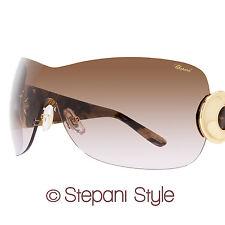 Chopard Shield Sunglasses SCH939 0300 Brown Melange 939