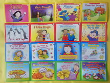 Lot 16 Scholastic Learn to Read Early Beginning Readers Set Children's Books NEW