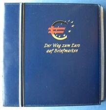 Sammlung Der Weg zum Euro auf Briefmarken Deutsche Post Bundesrepublik