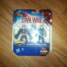 Ant Man And Winter Soldier Action Figures Age 4+ Marvel Avengers Civil War BNB