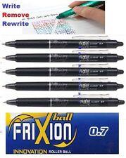 5 X piloto Frixion Borrable Rollerball Bolígrafo Negro 0.7mm punto-más barato en eBay