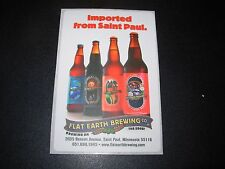 FLAT EARTH BREWING CO Cygnus Northwest Imported STICKER decal craft beer brewery