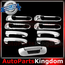 02-08 Dodge Ram Chrome 1500+2500+3500+HD 4 Door Handle W/O PSG KH+Tailgate Cover