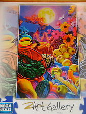 Mega Art Gallery Jigsaw Puzzle ~ Steven Morath ~ Moonlight Harvest    New!