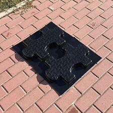 Set 2 pcs Puzzle Plastic Molds for Concrete Garden Stepping Stone Path Patio MOU