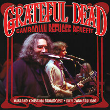 GRATEFUL DEAD New Sealed 2016 UNRELEASED 1980 CAMBODIAN REFUGEE CONCERT CD