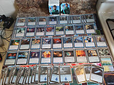 "MAGIC THE GATHERING: ""Lot of 65 WIZARD Deck"" -- BLUE Mana! Wizards! Spells! Look"