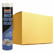 24 x Granville Multi Purpose LM2 Lithium Grease Quality Lubricant 400g Cartridge