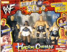 WWF WWE Hardcore Champions Bob Holly Mankind Boss Man Al Snow Belt Summer Slam