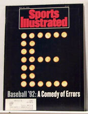 BASEBALL  1992 Sports Illustrated A COMEDY OF ERRORS
