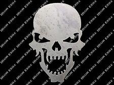 Small Skull 05 Metal Stencil Garage Art Hot Rat Rod Motorcycle Chopper Kustom