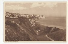 Folkestone, The Warren, English Series Postcard, A702