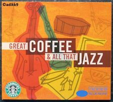 GREAT COFFEE & ALL THAT JAZZ, STARBUCKS BLUE NOTE COMPILATION, CD DIGIPAK, NEW