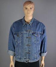 LEVI'S Jeansjacke Vintage Jeans Jacke Rockabilly Rocker 70507 blue-Gr.:XL  (492)