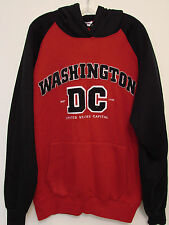 Washington D.C. Mens L/S Hooded Sweatshirt - Size XL