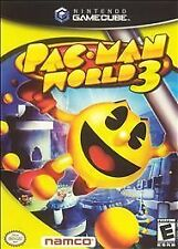 Pac-Man World 3 (Nintendo GameCube, 2005) GAME ONLY CUBE NES HQ