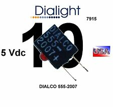 Dialight 555-2007 2mm LED CBI ® Circuit Board Indicator RED right angle Qty.: 10