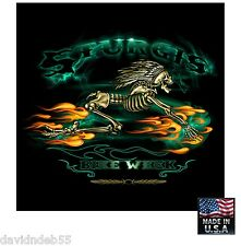 Sturgis SKELETON RIDE Bike Motorcycle Bandana BANDANNA Biker Head Skull Cap Wrap